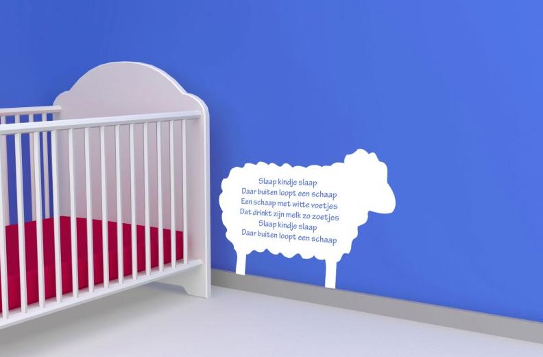 Muurstickers Kinderkamer Tekst : Muurstickers babykamer mooie voor in ...