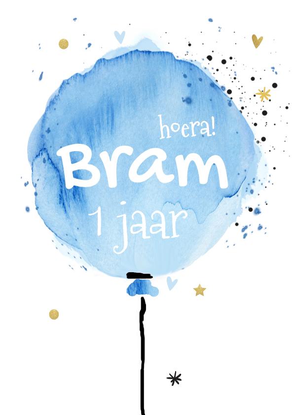 1 jaar verjaardag kinderfeestje ballon