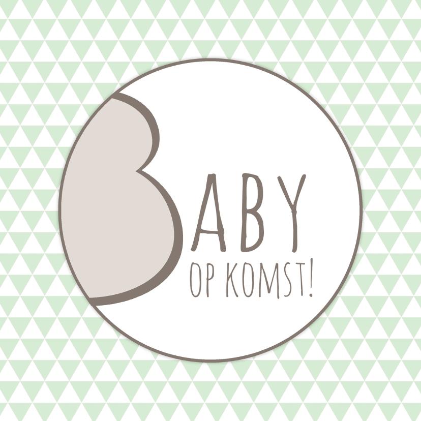 felicitatie zwanger baby op komst