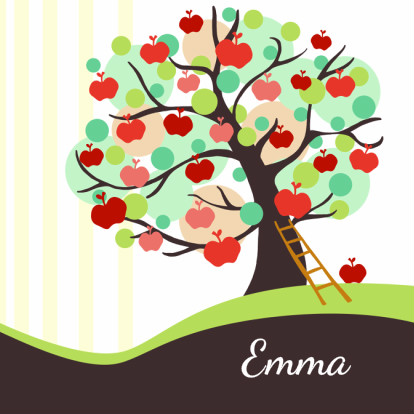 geboortekaart-appelboom