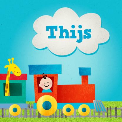 geboortekaart-jongen-trein