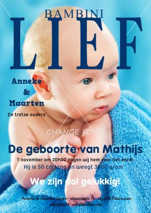 geboortekaartje-jongen-tijdschrift