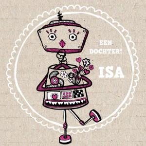 geboortekaartje-robot-meisje