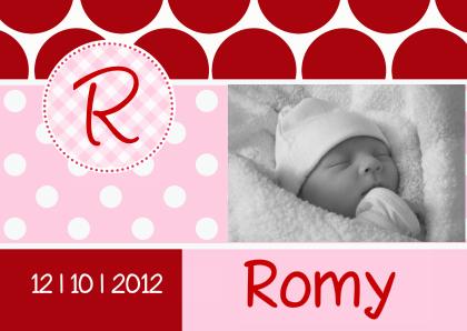 geboortekaartje-romy-gf