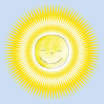 getekend-geboortekaartje-zon-1