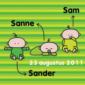 oekie-geboorte---meerling-groen