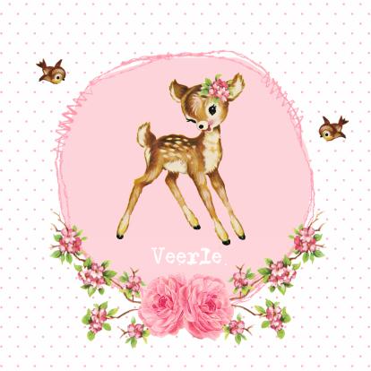 vintage-geboortekaarje-hertje-veerle